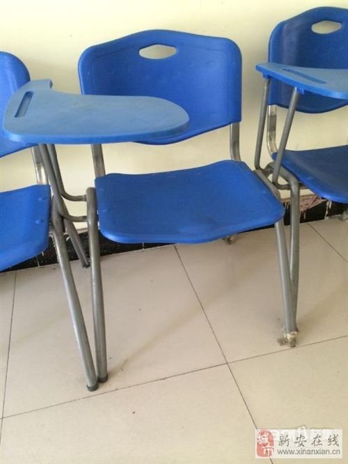 輔導班用帶寫字板培訓椅9成新-45元