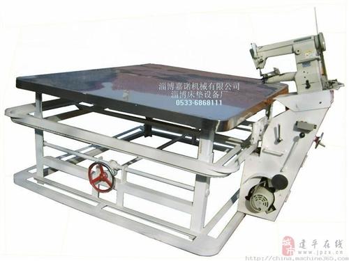 出售95成新制作床墊圍邊機以及材料共15