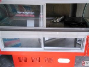 出售95成新冷�r肉食展示柜