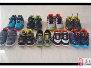 外贸尾货童鞋低价批发