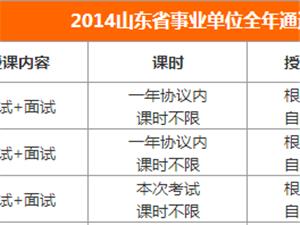中公教育2014年兗州事業單位教師編高分培訓班