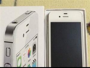 白色苹果32GB国行iPhone4s