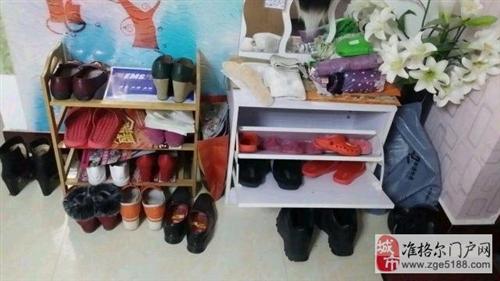 扇形收纳小鞋柜
