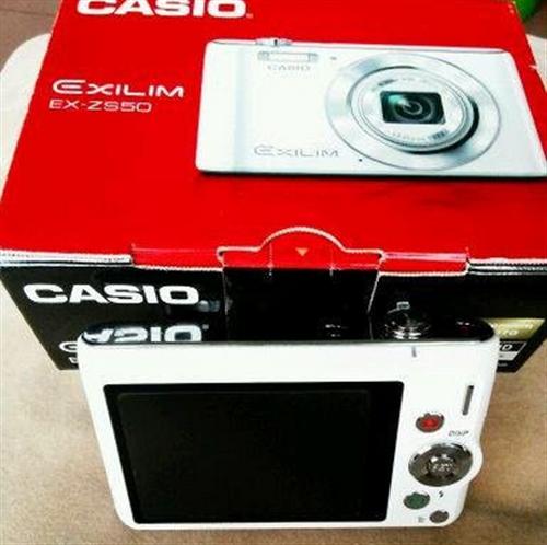 卡西歐zs50,帶美顏功能,1600萬像素,12倍