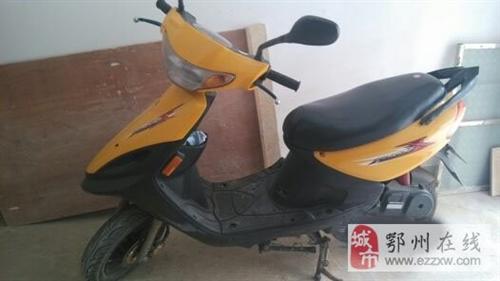 雅马哈黄色踏板摩托车95新转给有心人
