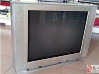 八成新三洋25寸平面彩色电视机