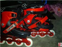 低价出售95成溜冰鞋一双