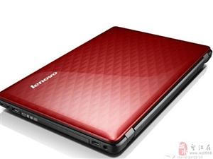 出售95成新笔记本联想Z485樱桃红适合女生