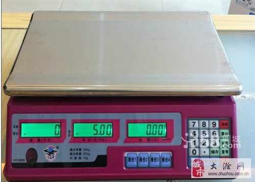 全新的计价秤 30kg的 160元