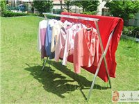 专业生产免安装折叠晾衣架地摊货架
