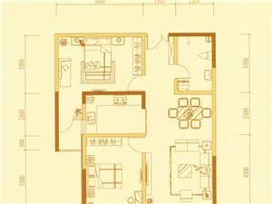 B型 两室两厅一卫
