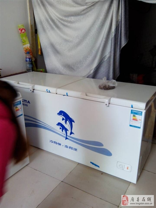 两台冰柜一台展示柜