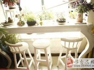 韩式白色吧台吧椅-800元