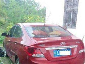 出售私家车2011款瑞纳