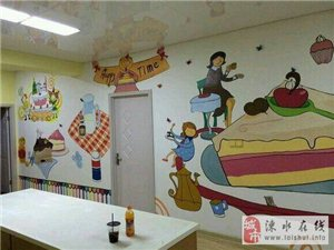 创意墙绘、电视背景墙、幼儿园文化墙、店面墙体绘画等