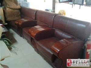 便宜处理一套组合皮沙发