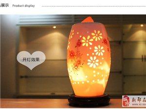 """主营""""盐灯"""",新型的灯具,能释放负离子,净化空气"""