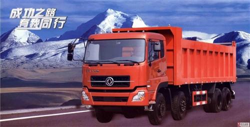 潢川检测线东雅格汽配部出售后八轮自卸货车