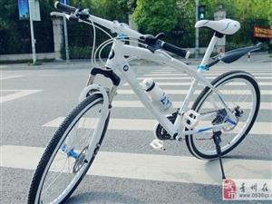 宝马休闲山地自行车98成新便宜转让850