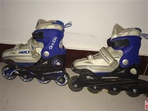 转让99成新轮滑鞋一双