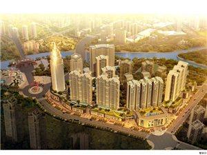 龙城国际广场项目整体?#21543;?#19994;效果图