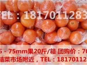 【團購】非常甜的贛南臍橙20斤特價70元/箱