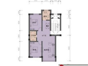海岸江南户型 2室1厅1卫60-120㎡