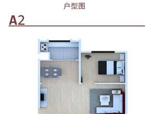 观澜阁花苑A2户型3室2厅1卫50-100㎡
