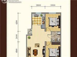 龙湾骏景户型图E12室2厅1卫 100.00㎡