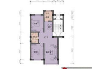 正大·国际旅游岛1户型 2室1厅1卫 面积60㎡