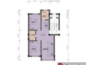 万隆·盛世英伦1户型 2室1厅1卫 面积60㎡