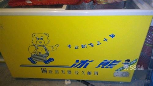 冰熊牌272升大冰柜