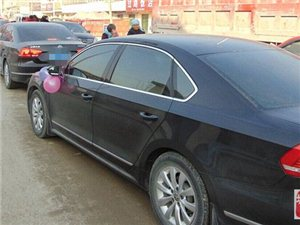 嘉祥帕萨特婚车车队 竭诚为您服务 欢迎随时订车