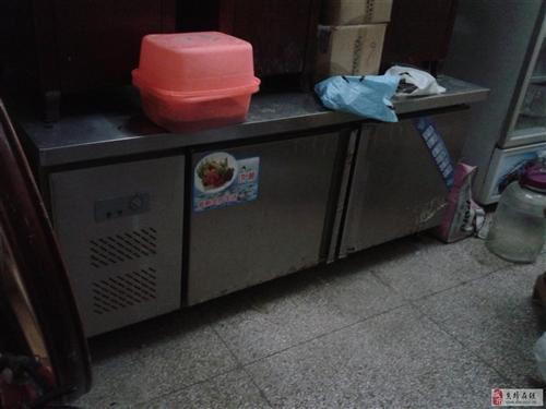 餐馆用的冰柜、展示柜、及大理石火锅桌低价转售