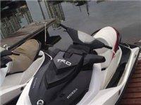 售庞巴迪130摩托艇