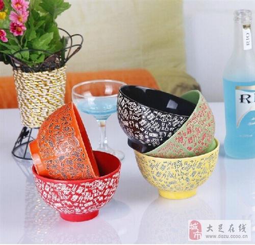 景德鎮陶瓷百家姓五彩碗網購多了,現低價拋售