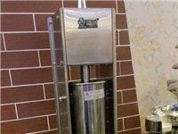 7公斤肉灌肠机|纯手摇灌肠机|3升灌香肠机天津