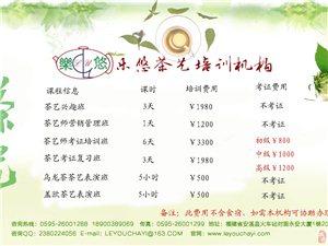 茶藝師考證班