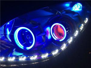 三亞汽燈光升級 改裝透鏡 氙氣燈