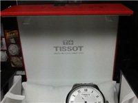 天梭力洛克钢带男士机械手表T41