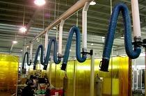 焊接烟尘净化系统,车间通风净化