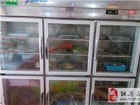 三開門冰箱展示柜 - 1200元