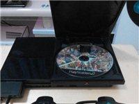 港版木炭黑色索尼90006型PS2电视游戏机