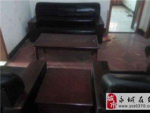 9.99成新办公专用沙发+茶几5件套给钱就卖!!!