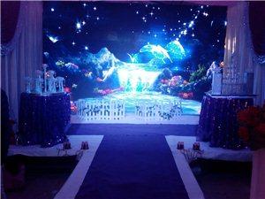 燈光 音箱 舞臺 婚場布置 歌手 司儀 化妝 一條