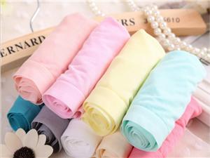 女士竹纖維內褲純色無痕透氣女式內褲女廠價批發