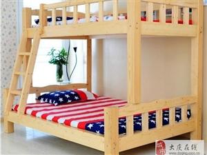 上下铺实木床出售