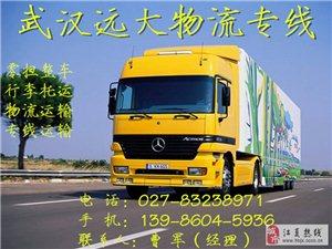 武汉到绩溪县物流公司-快运
