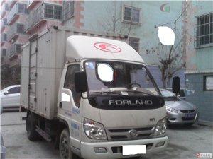 招远13年9月福田时代箱货485发动机3.8米车厢