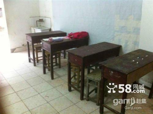 輔導班8張雙人座課桌帶20個凳子一起轉讓